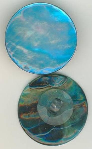Perlemor 1830-36 blå